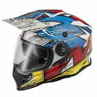 VCAN V331 JUST NOW DUAL SPORT MOTORCYCLE HELMET