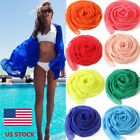 Women Chiffon Soft Long Scarves Summer Beach Wraps Shawl Cover Up Scarf Pashmina