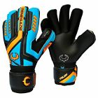 Talon Cyclone 2 Soccer Goalie Goalkeeper Gloves Fingersave Youth-Adult Size 6-11