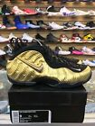 "Nike MENS Air Foamposite Pro ""Metallic Gold"" 624041-701 BRAND NEW 100%AUTHENTIC!"