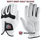 New Wilson Staff Soft Grip Golf Glove Mens Pick A Size