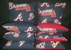 Atlanta Braves Set of 8 Cornhole Bean Bags FREE SHIPPING on Ebay