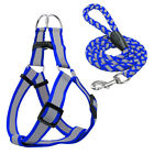 Reflective Step In Dog Harness & Leash Small Large Dog Strap for French Bulldog