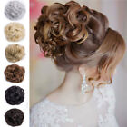 40 hair extensions - Real Thick 45 Deluxe Scrunchies Updo Messy Bun Chignon Hair Extensions Piece USA