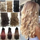 US Seller Clip in hair extensions one piece half full head h