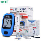 ON CALL EZ IV Intelligent Blood Glucose monitor system meter strips Lancets Code