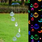 Solar Powered LED Wind Chime Windlight Water Resistant for Indoor/Outdoor Decor