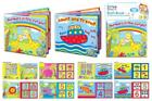 SOFT BABY BATH BOOK EDUCATIONAL FUN TODDLER KIDS LEARNING PVC 4 DESGINS