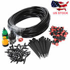 New 10/25m DIY Micro Drip Irrigation System Plant Self Watering Garden Hose Kits