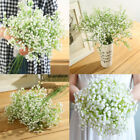 20Pcs Artificial Baby's Breath Fake Silk Flower Home Wedding Garden Decor