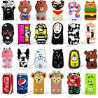 For iPhone 5 6s/7/8 Plus X 2019 3D Cute Cartoon Animals Soft Silicone Phone Case $6.73  on eBay