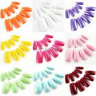 100pcs Full Cover French Style False Fake Acrylic Artificial Nail Art Tips Gel