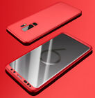 New Hybrid 360° Hard Shockproof Protective Case Cover For Samsung Galaxy Phones