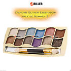 12 Colors Glitter Nude Matte Shimmer Eye Shadow Palette Makeup Hot Pro Cosmetic