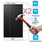 2Pcs 9H+ Premium Tempered Glass Film Screen Protector For LG Cell Phone