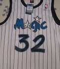 Shaq Jersey Shaquille O Neal Jersey Orlando Magic White All Stitched Throwback