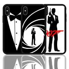 007 James Bond Secret Agent Silicone Cover Phone Case for iPhone X XR XS 11 Pro $8.58 USD on eBay