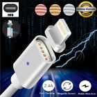 1M Magnetic Braided USB Charger Charging Cable For iPhone 5 5S 6 6S 7 8 X Plus