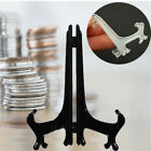 100pcs Display Stand For Capsule Easels Cardboard Coins Holder 2x2 Flip /Snaps