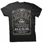 Gettin' Old Pissy And Cranky - Est. 1944 - 74th Birthday Gift T-shirt - 002