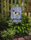 German Shorthaired Pointer Welcome Flag Garden Size