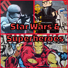 Large weighted Blanket - Star wars & Superheroes $130.0 AUD