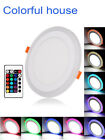 RGB 16 Colour Changing Ring LED Lamp Warm White Ceiling Panel Down Mood Light