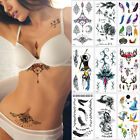 Внешний вид - Women Jewelry Temporary Body Chest Waist Art Tattoo Sticker Sexy Choker Pendant