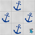 Anchors Nautical Vinyl Wall Tile Transfers Stickers Decals Bathroom Home Decor