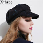 women's cotton octagonal cap winter spring hat fashion cap Girls