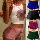 Women Lady Fashion Summer Suede Bottoms Hotpants Sport Shorts Pants 6colors Gift