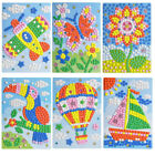 1PC Mosaic Puzzle Sticker Art Kits Crafts for Kids Animals Educational Toys