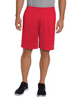 Champion Men's Long Mesh Short with Pockets Style # 81622 NWT Crimson Red