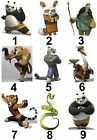 Kung-Fu Panda Characters Large Sticky White Paper Stickers Labels NEW