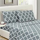 Mellanni Bed 3 Sheet Set - HIGHEST QUALITY Brushed Microfiber Bedding - 31