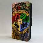 HARRY POTTER HOGWARTS DEATHLY HALLOWS  FLIP PHONE CASE for iPHONE 4 5 6 7 8 x