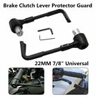 """2 X Motorcycle 7/8"""" Brake Clutch Lever Protector Protection Handguard Hand Guard"""