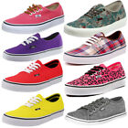 Vans Classic Authentic Low Canvas Trainers  Mens, Womens Size