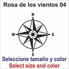 Sticker vinyl adhesive decal Compass, Rose the winds 04 Sizes and colors