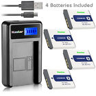 Kastar Battery LCD Charger for Sony NP-BD1 NPBD1 & Sony DSC-TX1 Digital Camera