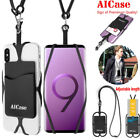 Universal Cell Phone Silicone Neck Lanyard cord Strap USA SELLER FAST SHIPPING!