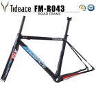 Carbon Fiber 700C Road Bike Frame Cycling Tideace Racing Bicycle Frame BB Right