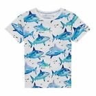 Bluezoo Kids 'Boys' Multi-Coloured Shark Print T-Shirt