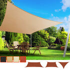 Sun Shade Sail Garden Patio Awning Canopy Oxford Fabric Waterproof 90% UV Block