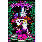 Wonderland II Blacklight Art Silk Poster 12x18 24x36 24xx43