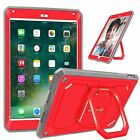For New iPad 9.7 inch 6th Generation 2018 Tablet Rotating Case Cover Grip Stand