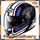 X-Lite X-661 Slipstream N-Com Full Face Motorcycle Helmet - Black/Blue