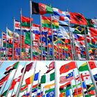 3'x5' FT 2018 World Cup Country National Flags Polyester USA