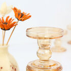 """Clear Glass Pillar Candle Holder-Taper Candle Holder-Perfect for Home Decor-3.5"""""""