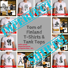 Tom of Finland T-shirts Defects Seconds Imperfect Irregular Gay Sex Leather Tee